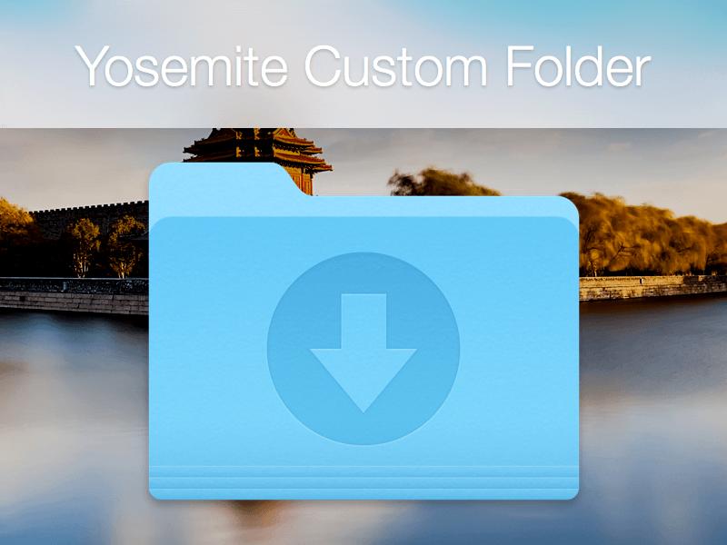Yosemite Folder Template