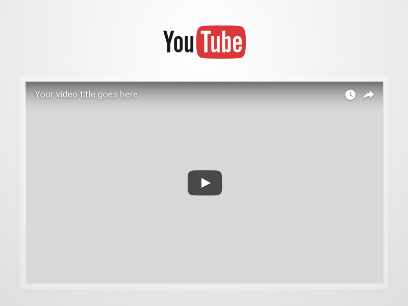 YouTube Video Frame