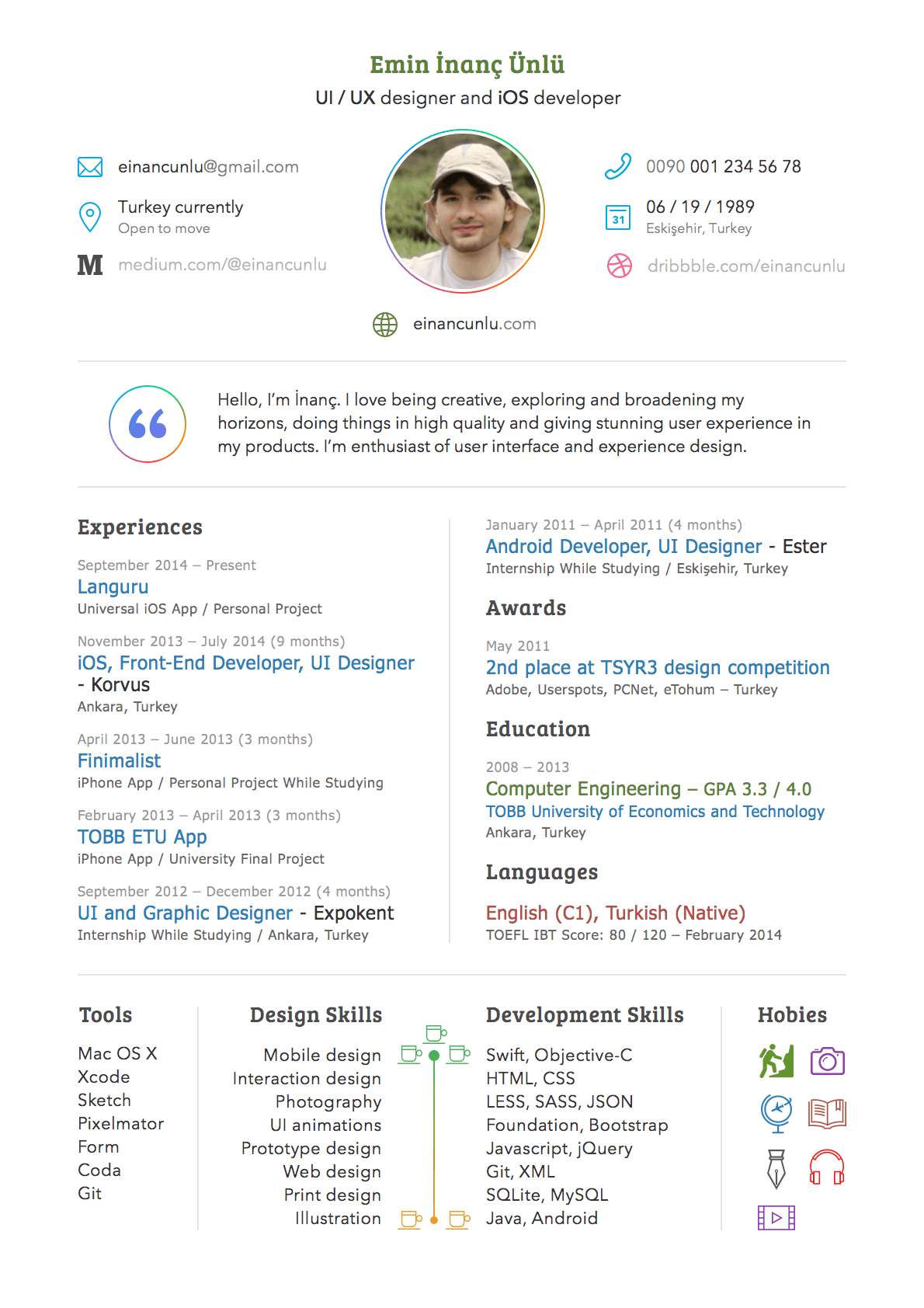 Sketch resume or cv template sketch resource for sketch image zoom resume template altavistaventures Gallery
