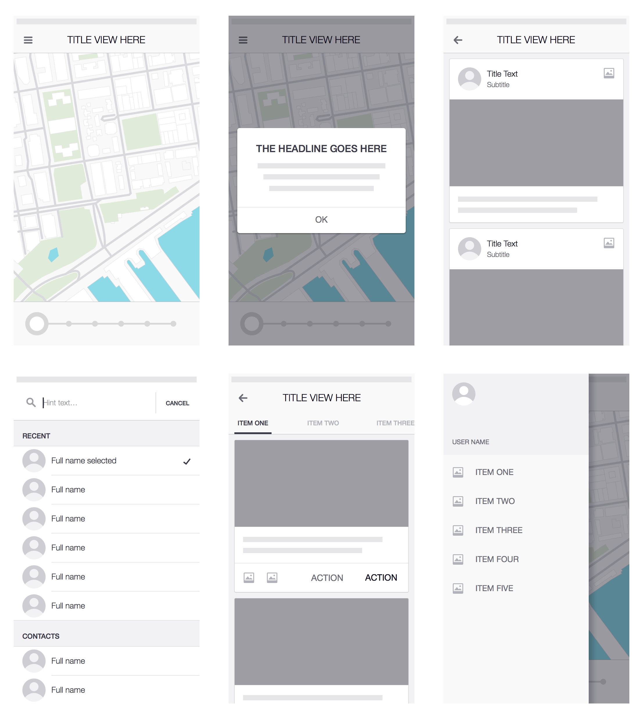 Uber Wireframe Kit Sketch Resource For Sketch Image Zoom Attachment Sketch App Sources