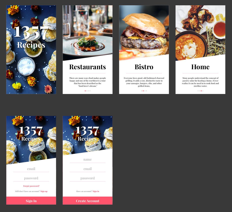 1357 recipe app ui kit sketch resource for sketch image zoom 1357 recipe app ui kit forumfinder Choice Image