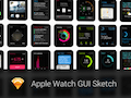 Apple Watch GUI Sketch