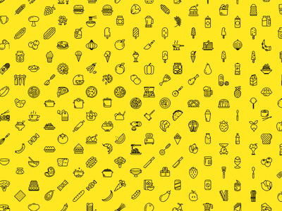 230 Food Icons