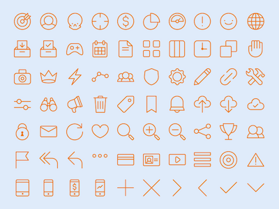 70 All Purpose Icons