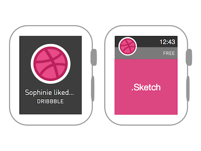 Apple Watch Wireframe