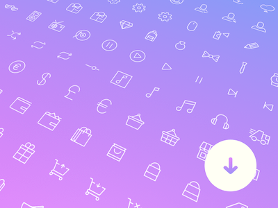 100+ Simple Line Icons
