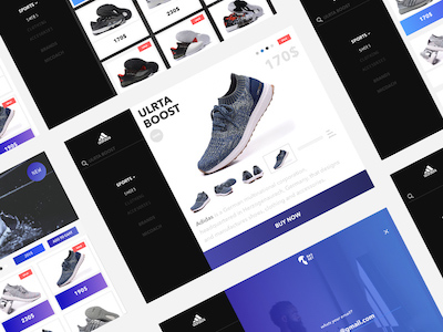 Adidas Website Redesign
