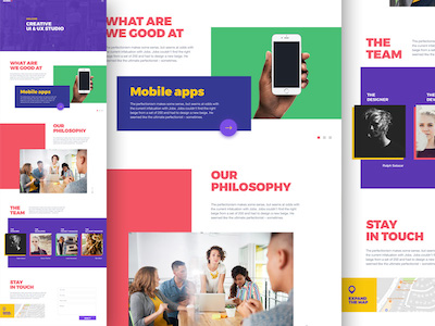 Agency Web Template