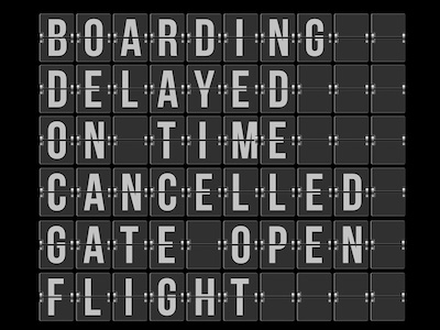 Airport and Station Board