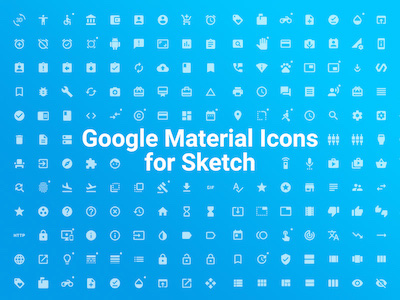 All Google Material Icons