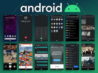 Android 10 UI Kit