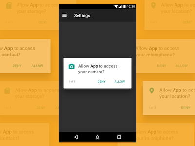 Android Permissions Template