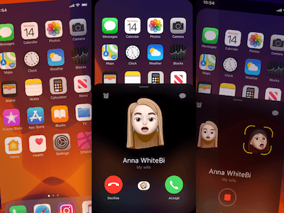 New Animoji Call Screen Concept