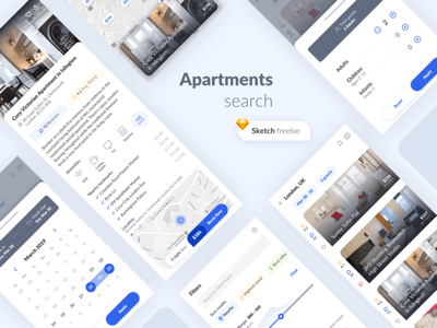 Apartments Search App