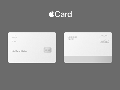 Apple Card Mockup