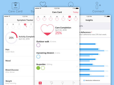 Apple CareKit GUI