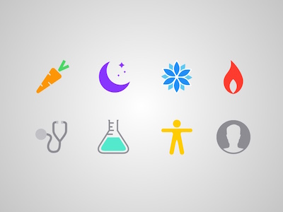 8 Apple Health Icons