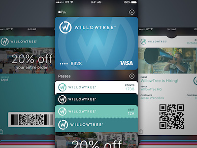 Apple Wallet UI Kit