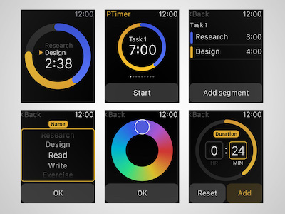 Productivity Watch App