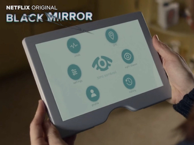 Black Mirror Arkangel User Interface