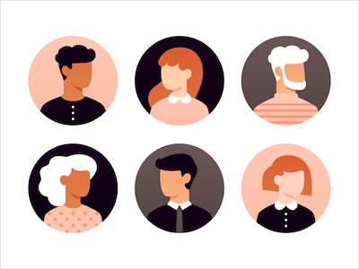 21 Stylish User Avatars