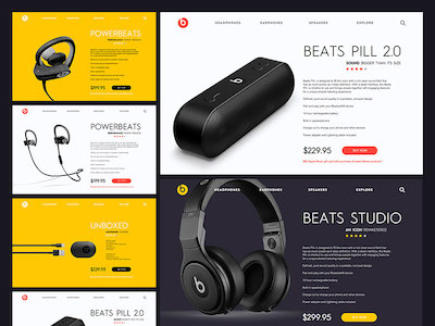 Beats - Product Pages