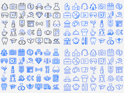 Beautiful Random Icons