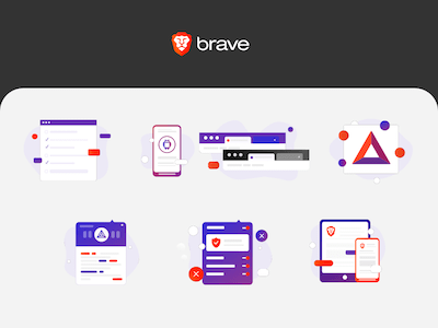 Brave Help Center Icons