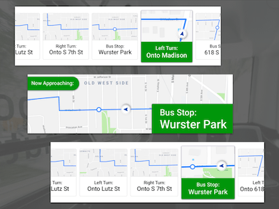 Bus Navigation Updates