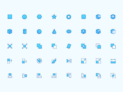 CAD Icon Set