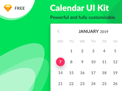 Powerful Calendar UI Kit