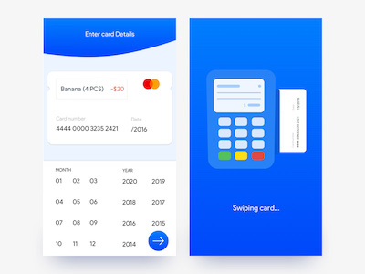 Google Play Card Payment Illustration