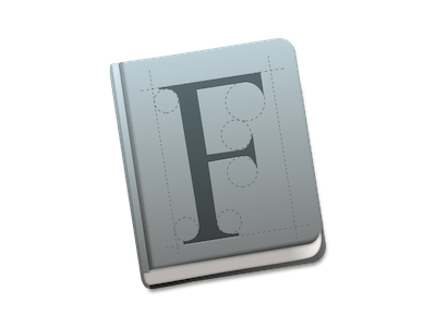Font Book Icon for Yosemite