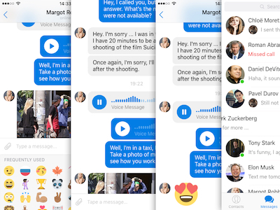Messenger UI Kit