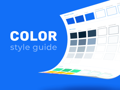 Color Style Guide Template