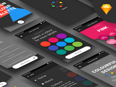 Android Color Palette App