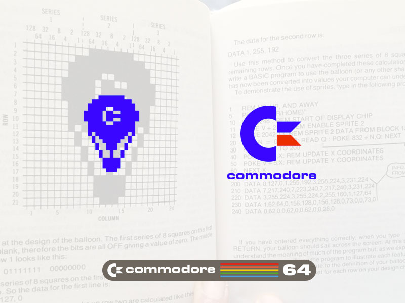 C64 Logo and Balloon Sprite