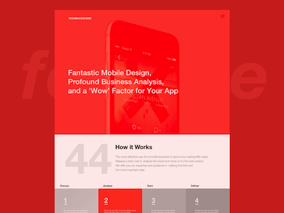 Mobile App Agency Website