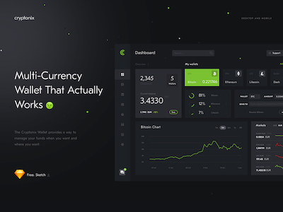 Crypto Wallet and Blockchain Dashboard