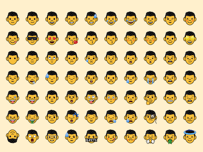 Custom Emoji Template