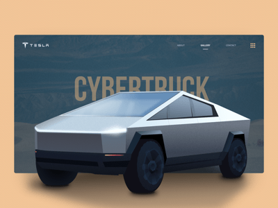 Cybertruck Illustration