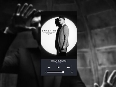 Dark Music UI