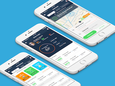 Delivery Jobs and Location Routing App