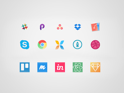Designer Workflow Icons