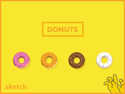 Yummy Sketch Donuts