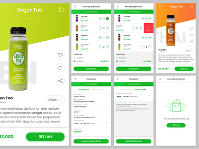 Drinks App with Checkout
