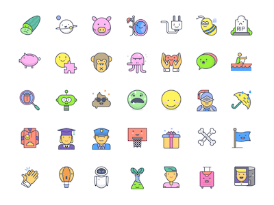 Emojious Free Icon Set