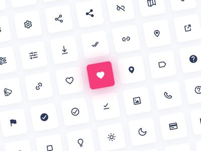 Over 300 Essential Icons