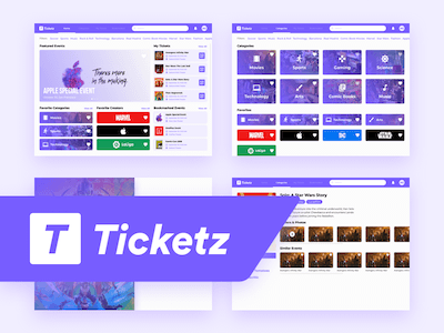 Event Booking UI Kit