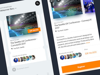 Eventbrite Redesign Concept
